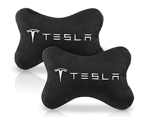 CojíN De ModificacióN De Soporte Para El Cuello, CojíN De Soporte Lumbar, Kit De Almohada Para El Cuello Del Reposacabezas, Para Tesla Model 3 X S