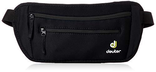 Deuter Unisex-Adult Neo Belt II Hüfttaschen, Black, 12 x 30 x 3 cm