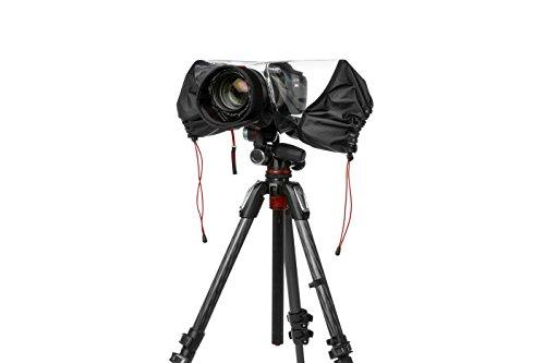 Manfrotto MB PL-E-702 Serie Pro-Light Copertura Antipioggia per Fotocamera DSLR, Nero/Antracite