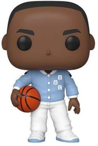 Funko 46803 Pop Baloncesto: UNC-Michael Jordan (Warm Ups) Juguete Coleccionable, Multicolor