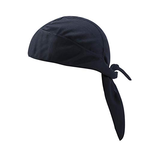 Seasaleshop Sport hoofdbedekking, sneldrogend, ademende turban, fietsen, muts, motor, mutsen, bandana, sweating, chil, skull, muts, sweatvest voor heren.