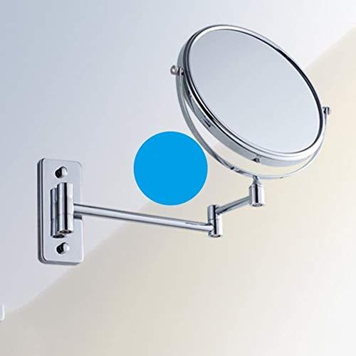 Make-up slaapkamer geheugen spiegel uittrekbare make-up spiegel, badkamerwand make-up spiegel roterende plooien dressing geschilderde dubbele kanten vergrootten-A-15cm, kleurnaam: A-15cm slaapbureau