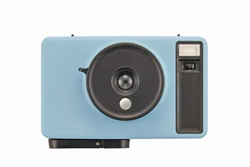 Pixtoss(ピックトス)タカラトミーインスタントトイカメラSODABLUEチェキフィルム使用TCC-05BU