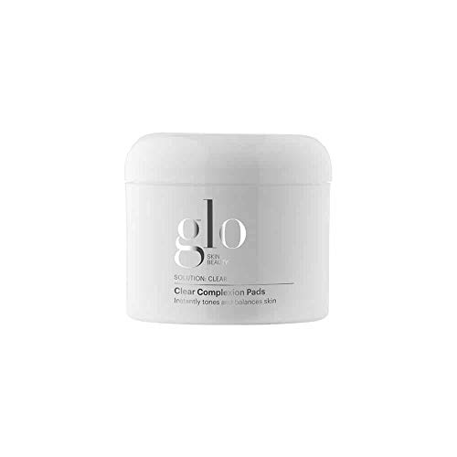 Glo Skin Beauty Clear Complexion Pads - Cleansing Face Wipes for Oily Skin, Acne and Breakouts - 50 count