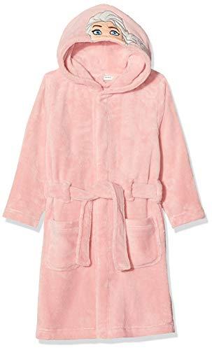 NAME IT Mädchen NMFFROZEN Batty Bathrobe WDI Bademantel, Rosa (Silver Pink Silver Pink), (Herstellergröße: 110)