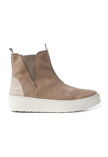 TEN POINTS Chelsea Boots Women Johanna 266002 Beige Sand 406, Schuhgröße:37