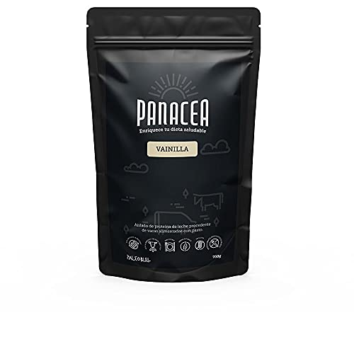 PALEOBULL Panacea Aislado de proteina Vainilla 750gr, Negro, Estándar (1228-021)