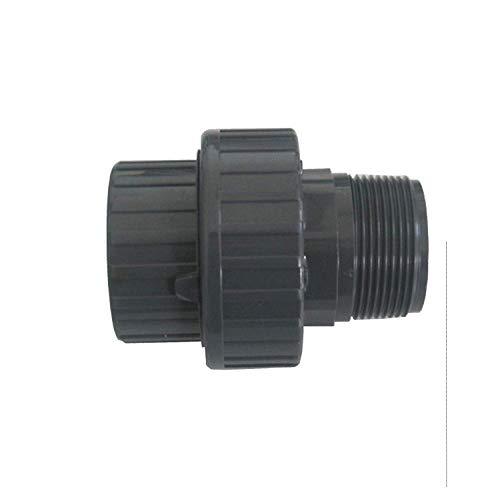 "well2wellness® PVC-U Verschraubung Spritzguss mit Klebeanschluss x Außengewinde - 50 mm x 2"" (200142)"