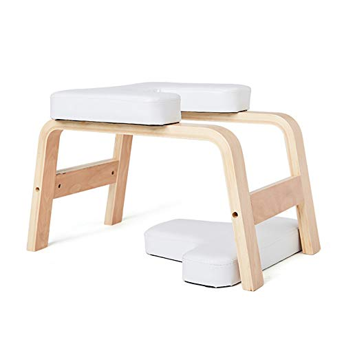 Sale!! Sports Equipment Yoga Inverted Stool Multifunctional Household Small Inverted Chair Wooden Pr...