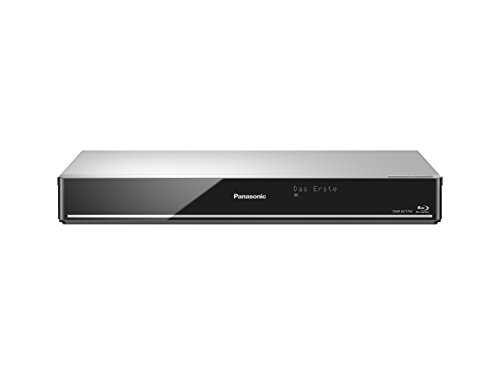 Panasonic DMR-BCT755EG Blu ray Recorder (mit 500 GB Festplatte, für DVB-C, Twin HD Tuner, 4K Upscaling, WLAN, VoD, TV Anywhere, 2x CI+, HbbTV) silber