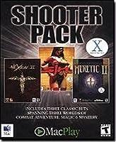 MacPlay 1000-01180 Shooter Pack Mac: Hexen II, Heretic II, Sin Gold (輸入版)