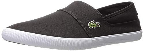 Lacoste Men's Marice Slip On Sneaker Fashion, Black, 8.5 M US