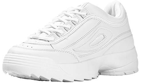 No - Zapatillas para Mujer, Color Blanco, Talla 37 1/3