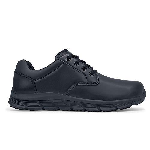 Shoes for Crews 47808V-40/6.5 SALOON II FEMMES, Chaussures antidérapantes pour femmes, Taille 40, Noir
