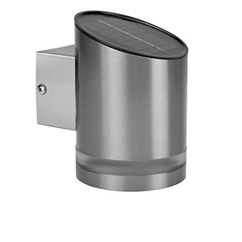 Smartwares GWS-002-DS Wandleuchte für Außen,Solarbetrieb, kabellose LED-Lampe
