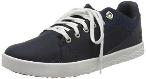 Jack Wolfskin Herren Auckland Ride Low M Sneaker, Blau (Dark Blue/White 1197), 43 EU