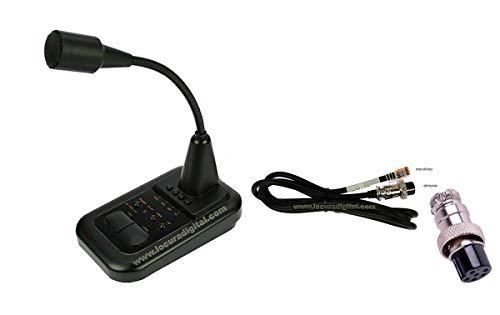 AV508 Microfono de sobremesa para Equipos President de 6 Pins