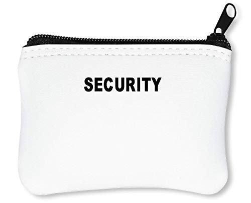 Security Funny Billetera con Cremallera Monedero Caratera