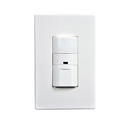 Greengate OSW-P-010 0-10V Multi-Volt Occupancy Sensor Dimmer, White