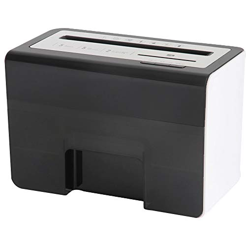 Great Price! LQSZJ Small High Security Shredder, Personal Household Electric Mini Granule Document S...