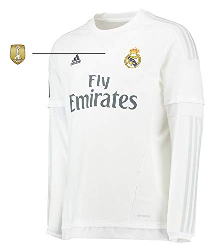 Real Madrid Trikot Herren 2015-2016 Home Langarm WC (XXL)