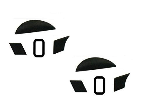 Mouse Skates/Mouse Feet Pads for Razer Naga Trinity/Razer Naga Hex V2 MOBA Gaming Mouse (Pack of 2, 0.6mm)