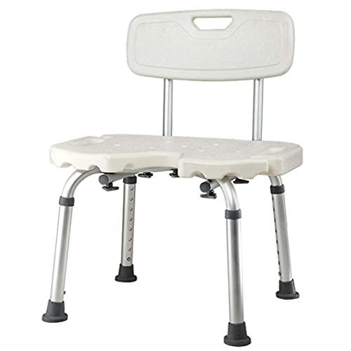WECDS-E Silla de baño y Ducha |Banco de Ducha para bañera de hidromasaje |para discapacitados,PersonasMayores,bariátricas,B