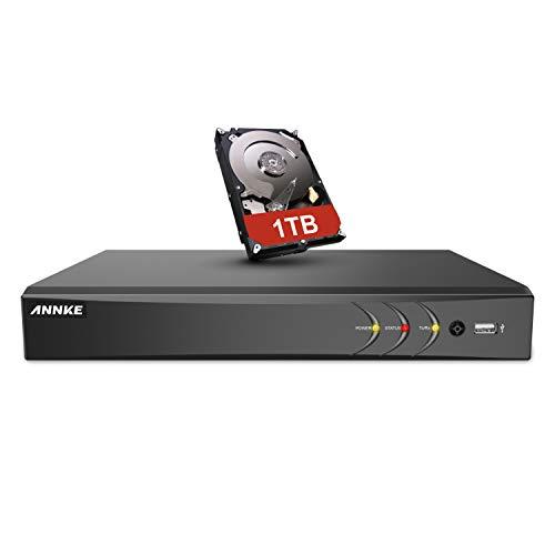 ANNKE 4K 8CH DVR CCTV Camera System 5 in1 Digital Video Recorder with 1TB...