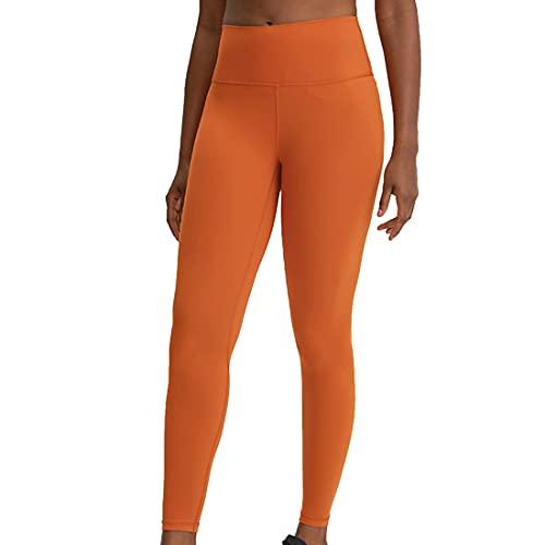 Leggings capri de yoga a prueba de sentadillas de cintura alta con bolsillos laterales de gimnasio de cintura alta para mujer, pantalones ajustados y arrugados ideales entrenamiento levantamiento