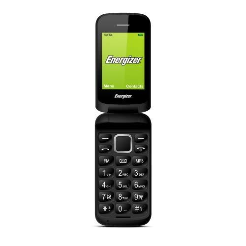 ENERGY E20 - Cellulare sbloccato 2G - Tastiera EU - Spine EU US UK IN (Display : 2, 40  - 32 Mo - Doppia SIM) Nero