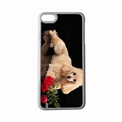 Asombrosa Tener Poodle Carcasa De Teléfono De Plástico Duro Compatible para Apple iPhone 6/6S para Hombre