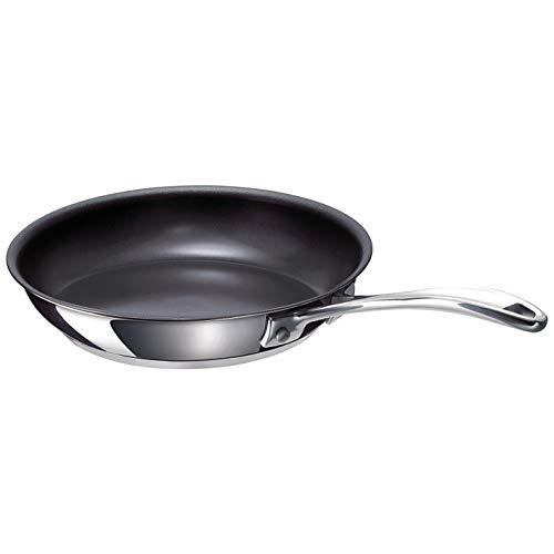 Beka 12068344 Chef Poêle à frire en acier inoxydable intérieur revêtu 24 cm