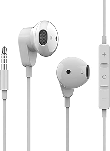 Wired Earphones Stereo Sound in-Ear Earbuds with 3.5mm Headphones Plug...