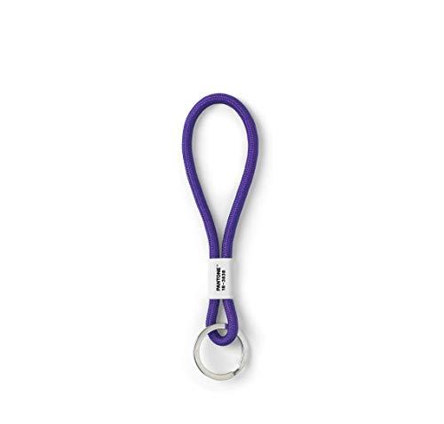 Copenhagen design PANTONE Key Chain S, short key hanger, nylon, Ultra Violet 18-3838 (COY)