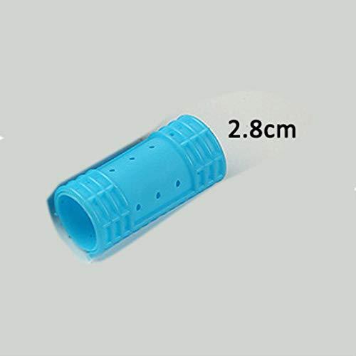 Piero Haarrollers met clips Snap Haarkrulspelden Stoom Permanent Rod Kapsalon Gebruik Magic Rollers Air Bang Curler, 28 mm