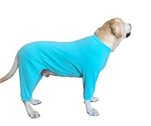 BT Bear Hundebekleidung für große Hunde, schützt Gelenke, haart nicht, vierbeinig, elastisch, Schlafanzug für mittelgroße und große Hunde, Labrador, Golden Retriever, Samojede