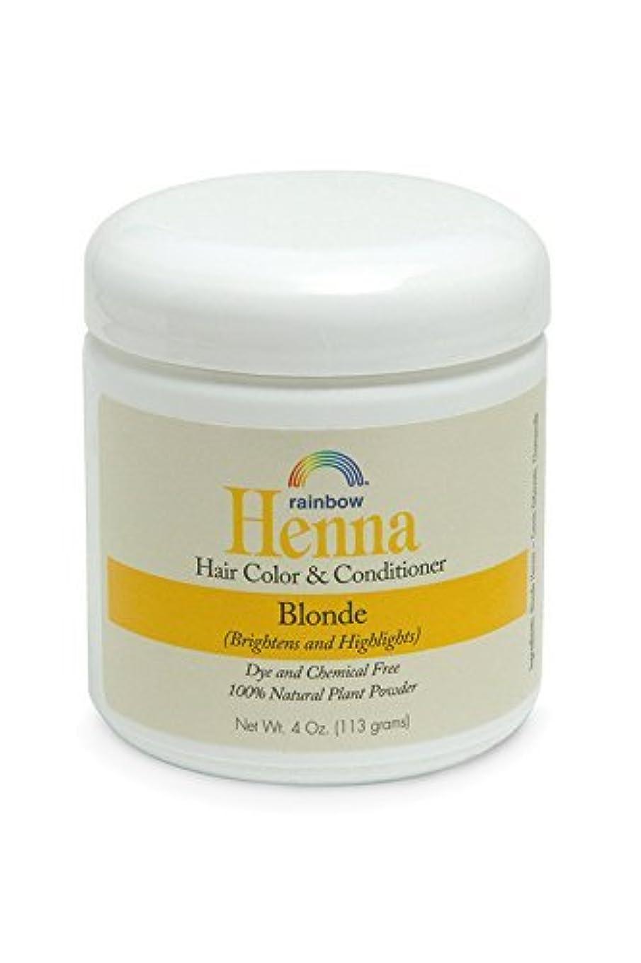 ラインナップ長くする職人Rainbow Research Henna Persian Blonde Hair Color and Conditioner Organic 113 g (並行輸入品)
