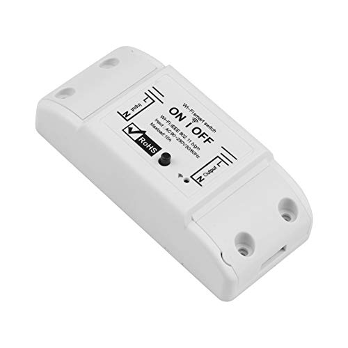 Bebliss Professional Wifi DIY Smart Wireless Remote Control Domotica Switch Light Controller To Work With Alexa Google EWeLink for Home