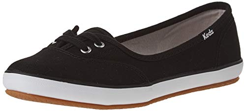 Keds Damen Teacup Twill Sneaker, (schwarz), 36.5 EU