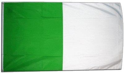 Digni drapeau Bande verte blanche 90 x 150 cm