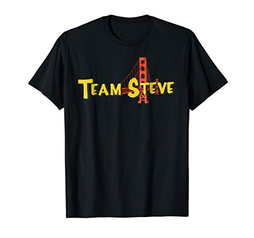 Funny Team Steve Graphic T Shirt
