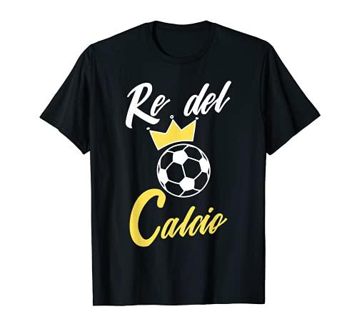 Hombre de Fútbol Hombre Rey Fútbol Divertido Camiseta
