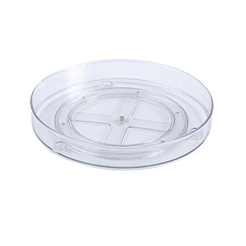 Recipiente para tocadiscos, recipiente transparente para tocadiscos, y más especiero para tocadiscos. Para guardar botellas de especias de cocina.