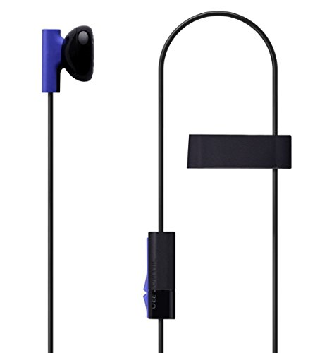 Headset Earbud Microphone Earpiece for PS4 Controller Headphones (Renewed)