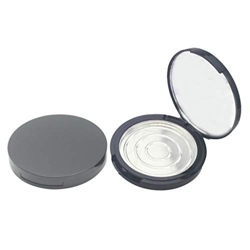CUTICATE 2pcs Palette de Maquillage Vide Conteneur Pour Lipstick Blush Poudre de Sourcil DIY et Couvercle Transparent