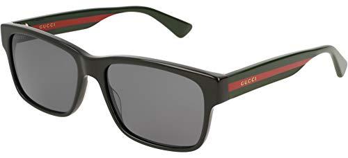Gucci GG0340S BLACK/GREY 56/17/150 Herren Sonnenbrillen