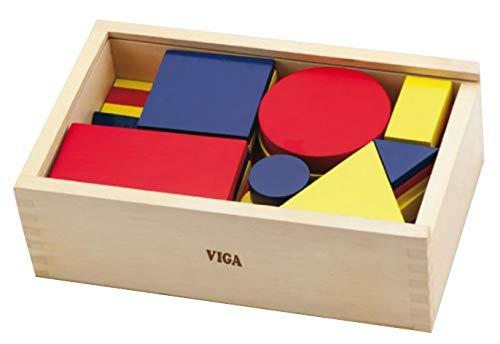 VIGA 56164 Figurines de logique Pads – géométrique