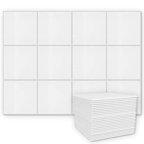 BUBOS 12 Stück Akustikplatten,Silber grau Acoustic Panels soundproof foam Akustikschaumstoff Platten,Schalldämmung für Tonstudio, Büro, Heimstudio,Schallabsorbierende Dämpfungswand(30.2x30.2x0.9cm)