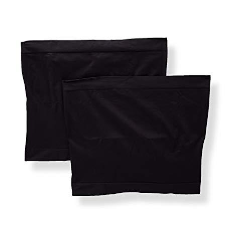 Playtex Cool Comfort Maternity Belly Band - 2 Pack (PLMTBB) 2X/3X/Black/Black