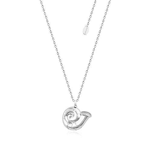 Disney Couture Kingdom White Gold-Plated Ursula Unfortunate Souls Sea Shell Necklace